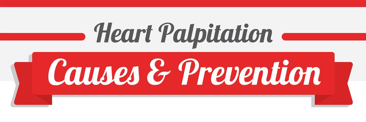 Heart Palpitation Infographic